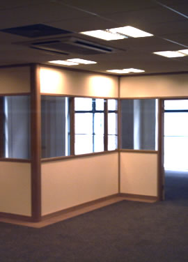 Partition Systems Installation Glass Partition